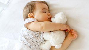 Barnens sömn i olika åldrar